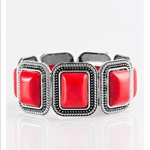 Red Stretch Bracelet